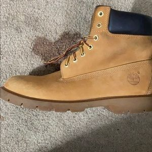 Timberland boots worn a couple of times